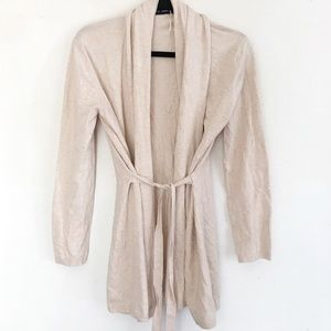 | Zara | open front cardigan